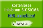 Kostenloses Infoforum Six Sigma
