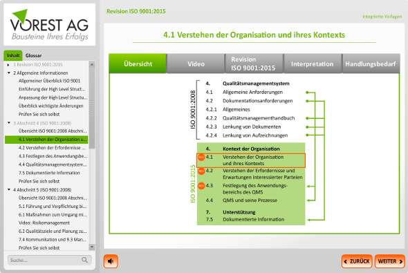 """Statistische Methoden sind laut ISO 9001:2015"