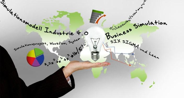 Beitragsbild Simulationsmodell Lean SIX SIGMA Simulation - Industrie 4.0