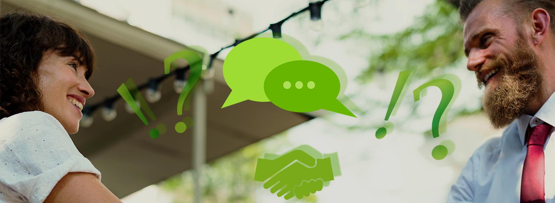 Konflikte am Arbeitsplatz lösen - Konfliktmanagement im Unternehmen - Banner