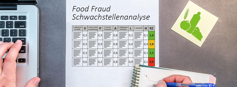 Food Fraud Schwachstellenanalyse_Banner