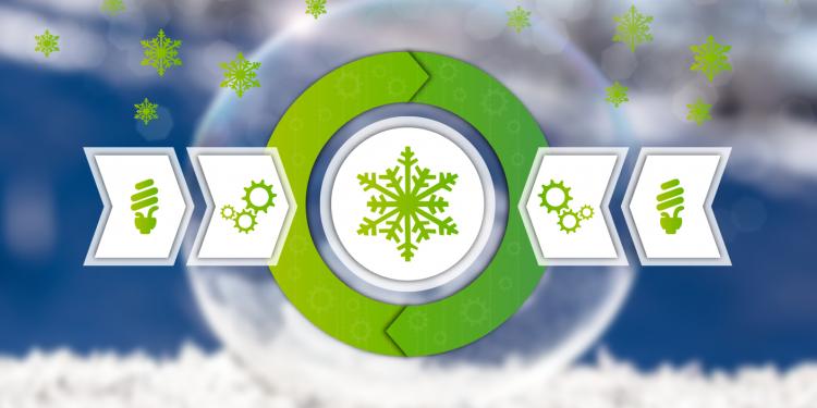 Prozesskälte und Klimakälte - Energieeffizienz Kältemittel-Beitragsbild