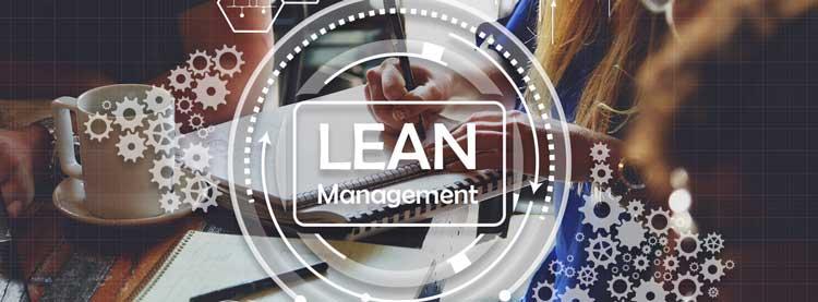Mit LEAN Management die Gemeinkosten effektiv beeinflussen - Banner